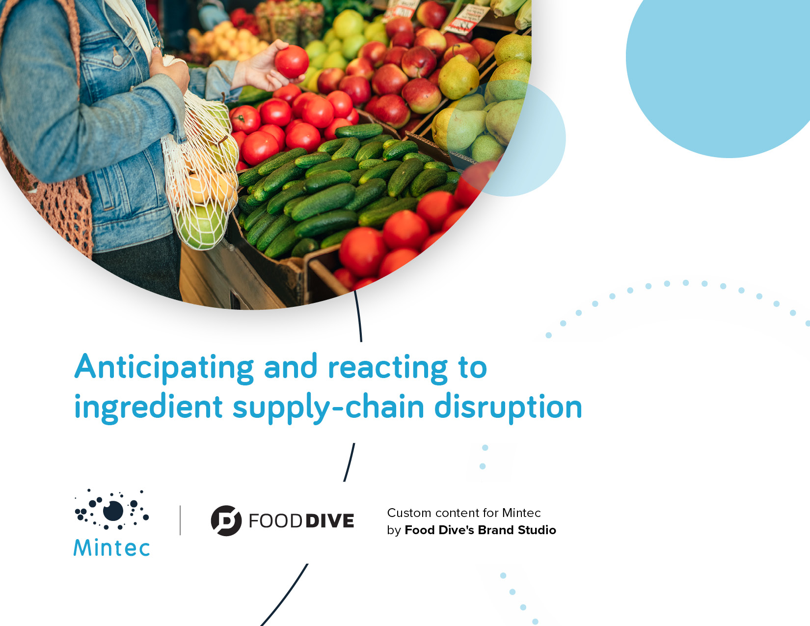 Anticipating & Reacting to Supply-Chain Disruption