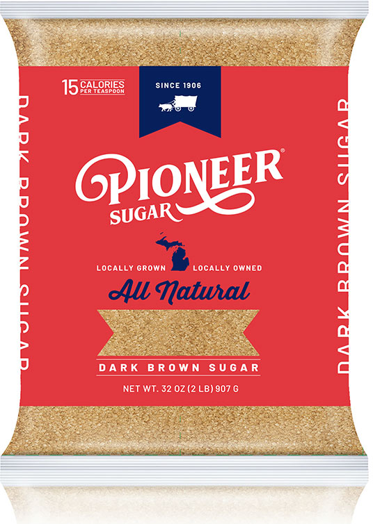 Pioneer Brown Sugar Packaging - Front Label